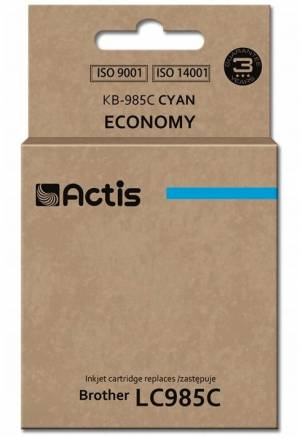 Tusz Actis KB-985C (Brother  LC985C) 19.5ml cyan