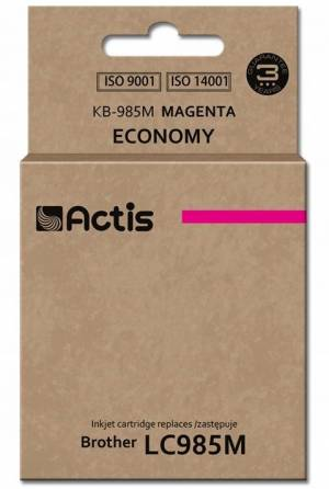 Tusz Actis KB-985M (Brother  LC985M) standard 19.5ml magenta