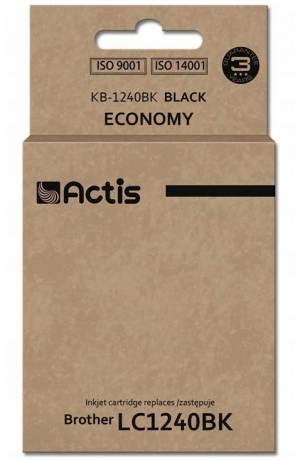 Tusz Actis KB-1240BK (Brother  LC1240BK/LC1220BK) standard 19ml czarny