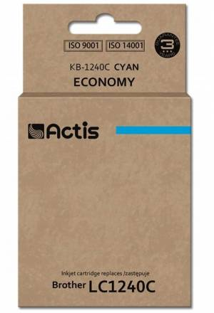 Tusz Actis KB-1240C (Brother  LC1240C/LC1220C) standard 19ml cyan