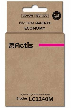 Tusz Actis KB-1240M (Brother  LC1240M/LC1220M) standard 19ml magenta
