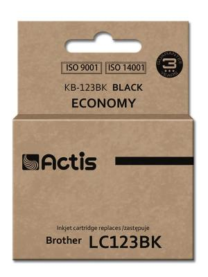 Tusz Actis KB-123BK (Brother  LC123BK/LC121BK) standard 15ml czarny