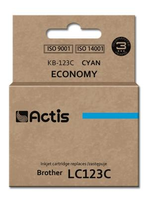 Tusz Actis KB-123C (Brother  LC123C/LC121C) standard 10ml cyan
