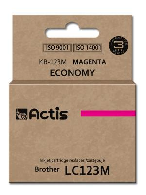 Tusz Actis KB-123M (Brother  LC123M/LC121M) standard 10ml magenta