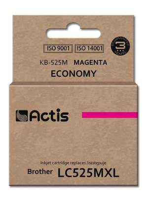 Tusz Actis KB-525M (Brother  LC525M) standard 15ml magenta