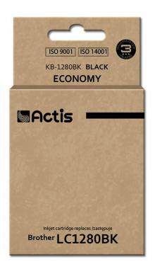 Tusz Actis KB-1280BK (Brother  LC1280BK) standard 60ml czarny