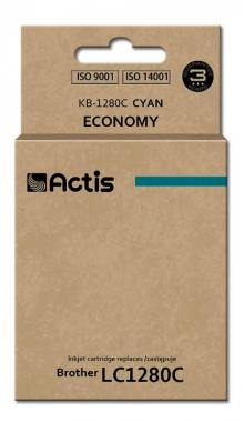 Tusz Actis KB-1280C (Brother  LC1280C) standard 19ml cyan