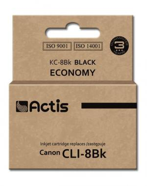 Tusz Actis KC-8Bk (Canon  CLI-8BK) standard 14ml czarny Chip