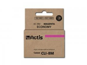 Tusz Actis KC-8M (Canon  CLI-8) standard 14ml magenta Chip