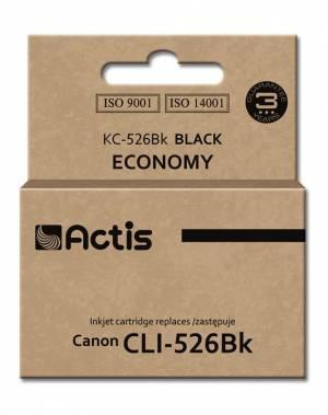Tusz Actis KC-526BK (Canon  CLI-526BK) standard 10ml czarny Chip