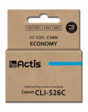 Tusz Actis KC-526C (Canon  CLI-526C) standard 10ml cyan Chip
