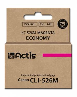 Tusz Actis KC-526M (Canon  CLI-526M) standard 10ml magenta Chip