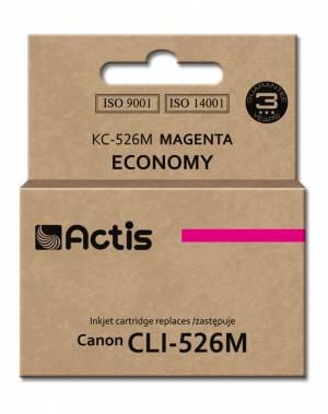 Tusz Actis KC-526M (Canon  CLI-526M) standard 10ml magenta Chip