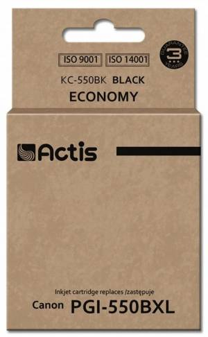 Tusz Actis KC-550BK (Canon  PGI-550BK) standard 23ml czarny Chip