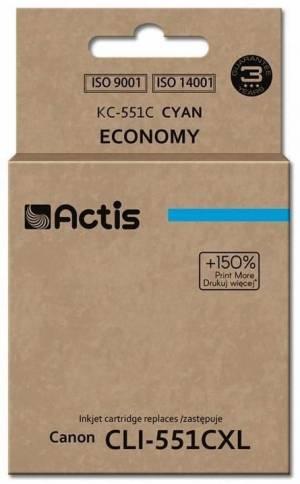 Tusz Actis KC-551C (Canon  CLI-551C) standard 12ml cyan Chip