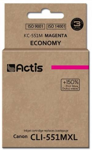 Tusz Actis KC-551M (Canon  CLI-551M) standard 12ml magenta Chip