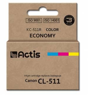 Tusz Actis KC-511R (Canon  CL-511) standard 12ml trójkolorowy