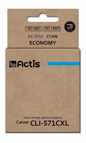 Tusz Actis KC-571C (Canon  CLI-571C) standard 12ml cyan