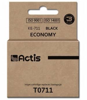 Tusz Actis KE-711 (Epson  T0711 C13T071140) standard 15ml czarny