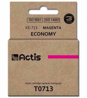 Tusz Actis KE-713 (Epson  T0713 C13T071340) standard 13.5ml magenta
