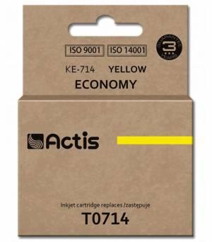 Tusz Actis KE-714 (Epson  T0714 C13T071440) standard 13.5ml yellow