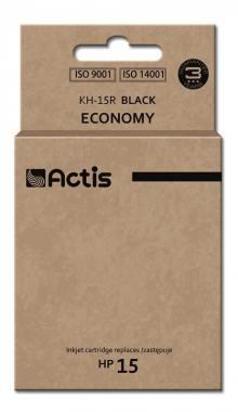 Tusz Actis KH-15R (HP 15 C6615N) standard 50ml czarny
