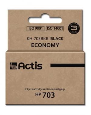 Tusz Actis KH-703BKR (HP 703 CD887AE) standard 15ml czarny
