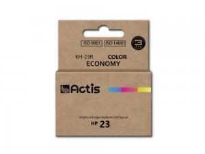 Tusz Actis KH-23R (HP 23 C1823D) standard 39ml trójkolorowy