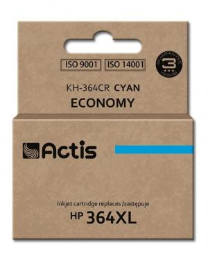 Tusz Actis KH-364CR (HP 364XL CB323EE) standard 12ml cyan Chip