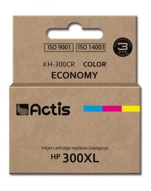 Tusz Actis KH-300CR (HP 300XL CC644EE) standard 21ml trójkolorowy