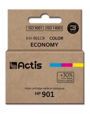 Tusz Actis KH-901CR (HP 901 CC656AE) standard 21ml trójkolorowy