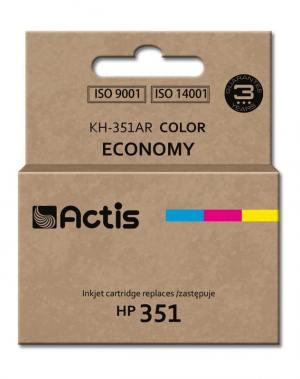 Tusz Actis KH-351AR (HP 351 CB337EE) standard 9ml trójkolorowy