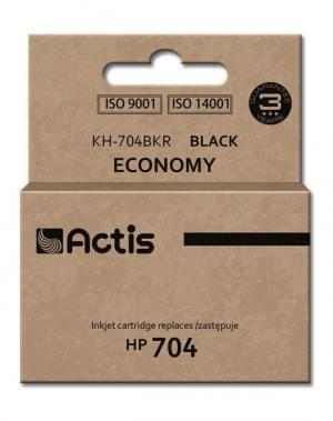Tusz Actis KH-704BKR (HP 704 CN692AE) standard 15ml czarny