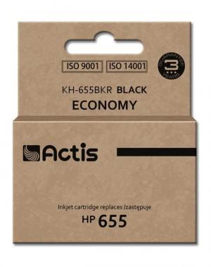Tusz Actis KH-655BKR (HP 655 CZ109AE) standard 12ml czarny Chip