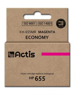 Tusz Actis KH-655MR (HP 655 CZ111AE) standard 12ml magenta Chip