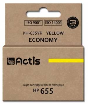 Tusz Actis KH-655YR (HP 655 CZ112AE) standard 12ml yellow Chip