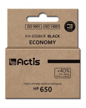 Tusz Actis KH-650BKR (HP 650 CZ101AE) standard 15ml czarny