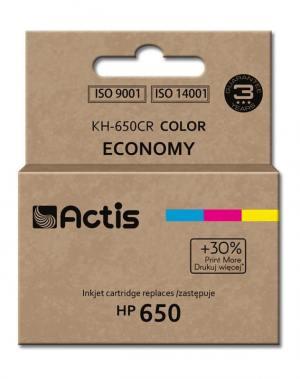 Tusz Actis KH-650CR (HP 650 CZ102AE) standard 9ml trójkolorowy