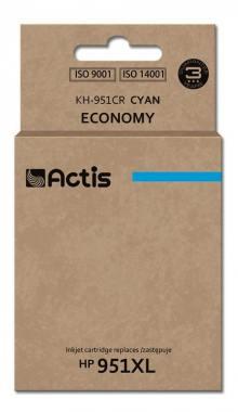 Tusz Actis KH-951CR (HP 951XL CN046AE) standard 25ml cyan Chip