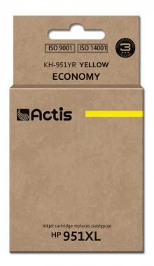 Tusz Actis KH-951YR (HP 951XL CN048AE) standard 25ml yellow Chip