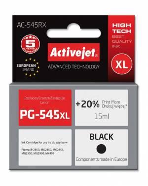 Tusz Activejet AC-545RX (Canon PG-545XL) premium 15ml czarny