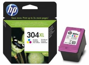 Tusz HP oryginalny nr 304XL Kolor N9K07AE