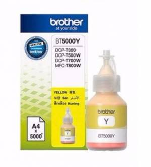 Tusz Brother BT5000Y Yellow 5k do DCP-T300, DCP-T500W