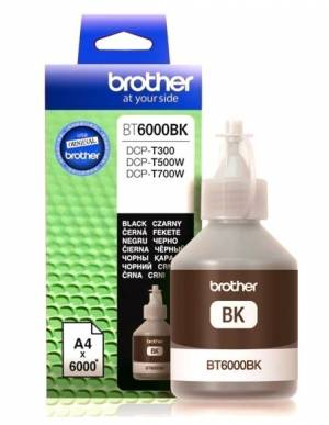 Tusz Brother BT6000BK Black 6k do DCP-T300, DCP-T500W