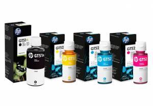 Zestaw HP GT51XL + 3x GT52 4 oryginalne tusze CMYK