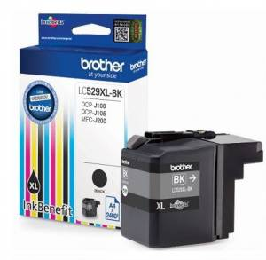 Tusz Brother LC529XLBK BLK 2400 do DCP-J100 DCP-J105