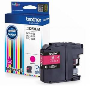 Tusz Brother LC525XLM MAGENTA 1300 do DCP-J100 DCP-J105