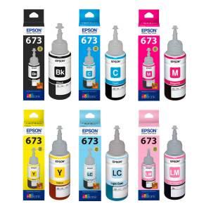 Zestaw Epson T673 - 6 kolorów 70ml do L800