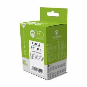 Tusz TFO Epson E-2712 (T2712, Cy) cyjan 18ml