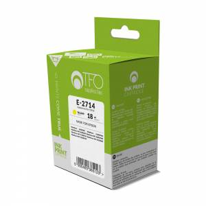 Tusz TFO Epson E-2714 (T2714, Ye) yellow 18ml